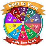 Cover Image of Spin to Win : Daily Earn 100$ 1.3 APK