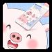 Pink Cartoon Cute Pig Theme