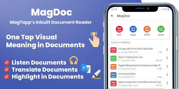 Download MagTapp | Image Dictionary | Browser & PDF Reader APK